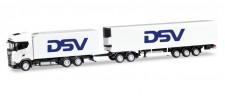 Herpa 306799 Scania CS HD Kühl-Eurokombi DSV