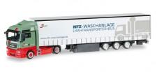 Herpa 306904 MAN TGX XLX GP-SZ Wandt Waschpark