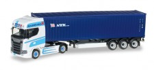 Herpa 306942 Scania CS20 HD 40ft C-SZ Wiek Transporte