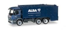 Herpa 306966 MB Antos Pressmüllwagen ALBA