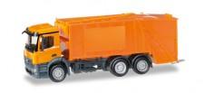 Herpa 307048 MB Antos Pressmüllwagen orange