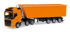 Herpa 307215 Volvo FH GL 6x2 Stöffelliner-SZ orange