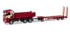 Herpa 307239 Scania R HL Kipper m.TU3 Heidemann