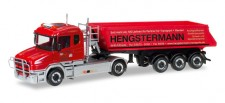 Herpa 307390 Scania Hauber Kipp-SZ Hengstermann Rhede