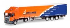 Herpa 307444 MB Actros BS GP-SZ Leipziger Logistik