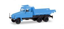 Herpa 307581 IFA G5 Muldenkipper blau