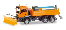 Herpa 307772 MAN TGS M 6x6 Winterdienst orange