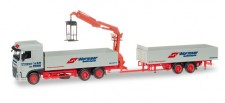 Herpa 307819 DAF XF SC E6 PHZ Spedition Wormser