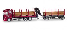 Herpa 307840 Scania R13 HL Holztransport-HZ Ziefle