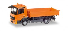 Herpa 307857 MB Atego 3seitenkipper orange