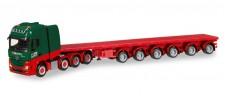 Herpa 307871 MB Actros SLT Ballasttrailer-SZ Kahl
