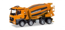 Herpa 308120 MB Arocs M Betonmischer (4a) orange