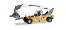 Herpa 308274 Liebherr Reachstacker LRS645 Weiss