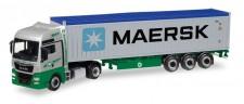 Herpa 308441 MAN TGX XXL E6c C-SZ EKB/Maersk