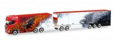 Herpa 308489 Scania CS HD EuroCombi Ristimaa Fire