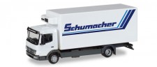 Herpa 308540 MB Atego Kühl-Koffer-Lkw Schumacher