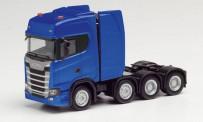 Herpa 308601-002 Scania CS20 HD Schwerlast-SZM Ultramarin
