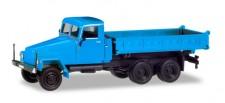 Herpa 308670 IFA G5 3seitenkipper blau