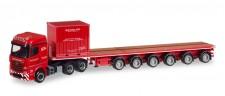 Herpa 308786 MB Arocs 6x4 Ballasttrailer-SZ Scholpp