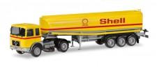 Herpa 309271 MAN F8 Benzintank-SZ Shell