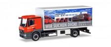 Herpa 309295 MB Actros CS Kühl-Koffer-Lkw Wirtz