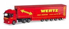 Herpa 309431 MB Actros L Meusburger-SZ Wertz Aachen