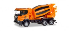 Herpa 309783 Scania CG 17 6x6 Betonmischer-LKW orange