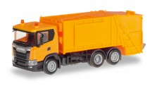 Herpa 309837 Scania CG17 Pressmüllwagen orange