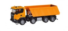 Herpa 309943 Scania CG17 8x4 Baukipper orange