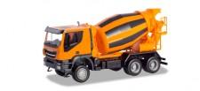 Herpa 310000 Iveco Trakker 6x6 Betonmischer-LKW oran