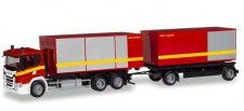 Herpa 310017 Scania CG17 Abrollcontainer-HZ FW