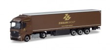 Herpa 310260 MB Actros SS GP-SZ Ziegler Group