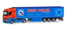Herpa 310314 MB Actros BS GP-SZ Weck + Poller