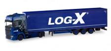 Herpa 310413 Scania CS20 HD Lowliner-SZ Log-X