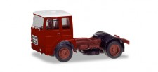 Herpa 310550 Roman Diesel 4x2 SZM braunrot /Dach weiß