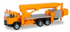 Herpa 310932 MAN F8 Ruthmann Steiger orange