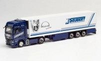 Herpa 312714 MAN TGX KK-SZ Seubert/Blue Lady 2020