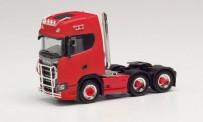 Herpa 314053 Scania CS 20 HD 6×2 SZM rot