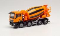Herpa 314138 MAN TGS NN Betonmischer-LKW orange