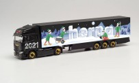 Herpa 314176 Iveco S-Way KSZ Weihnachtsmodell 2021