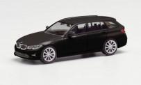 Herpa 420839-002 BMW 3er Touring brillantschwarz