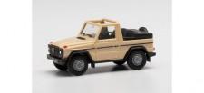 Herpa 420860 MB G-Modell Cabrio, sandbeige
