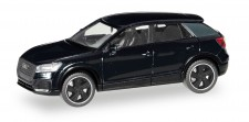 Herpa 420877 Audi Q2 Black Edition brillantschwarz