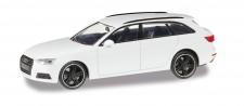 Herpa 420884 Audi A4 Avant Black Edition alpinweiss