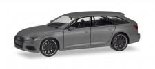 Herpa 420891 Audi A6 Avant Black Edition nardograu