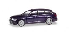 Herpa 430647-002 Audi A6 Avant firmamentblau met.