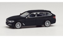 Herpa 430708-003 BMW 5er Touring saphirschwarz-met.