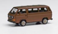 Herpa 430876-002 VW T3 Bus mit BBS-Felgen broncebeige