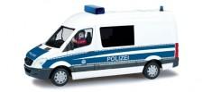 Herpa 461634 Scenix MB Sprinter Halbbus Polizei 2006