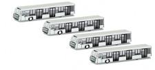 Herpa 521000 Zubehör Airport Busse 4 Stück